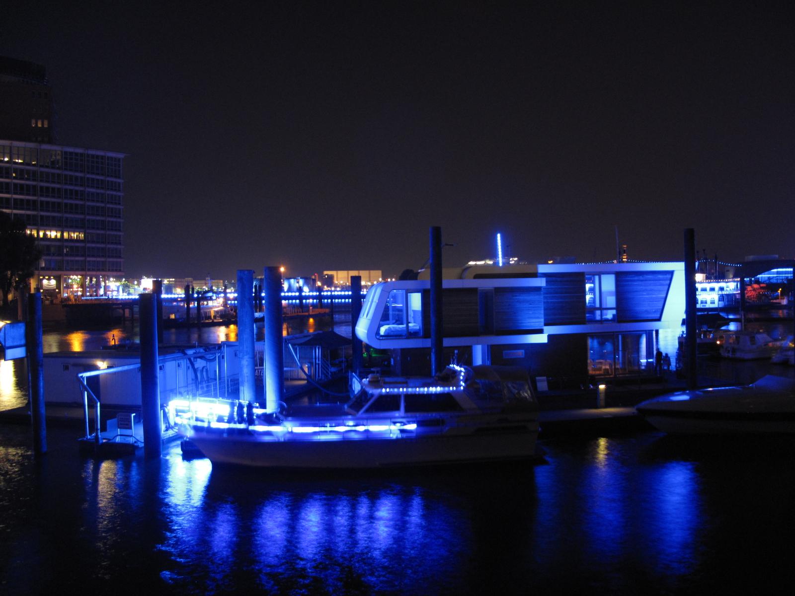 Blue Port Floating Home