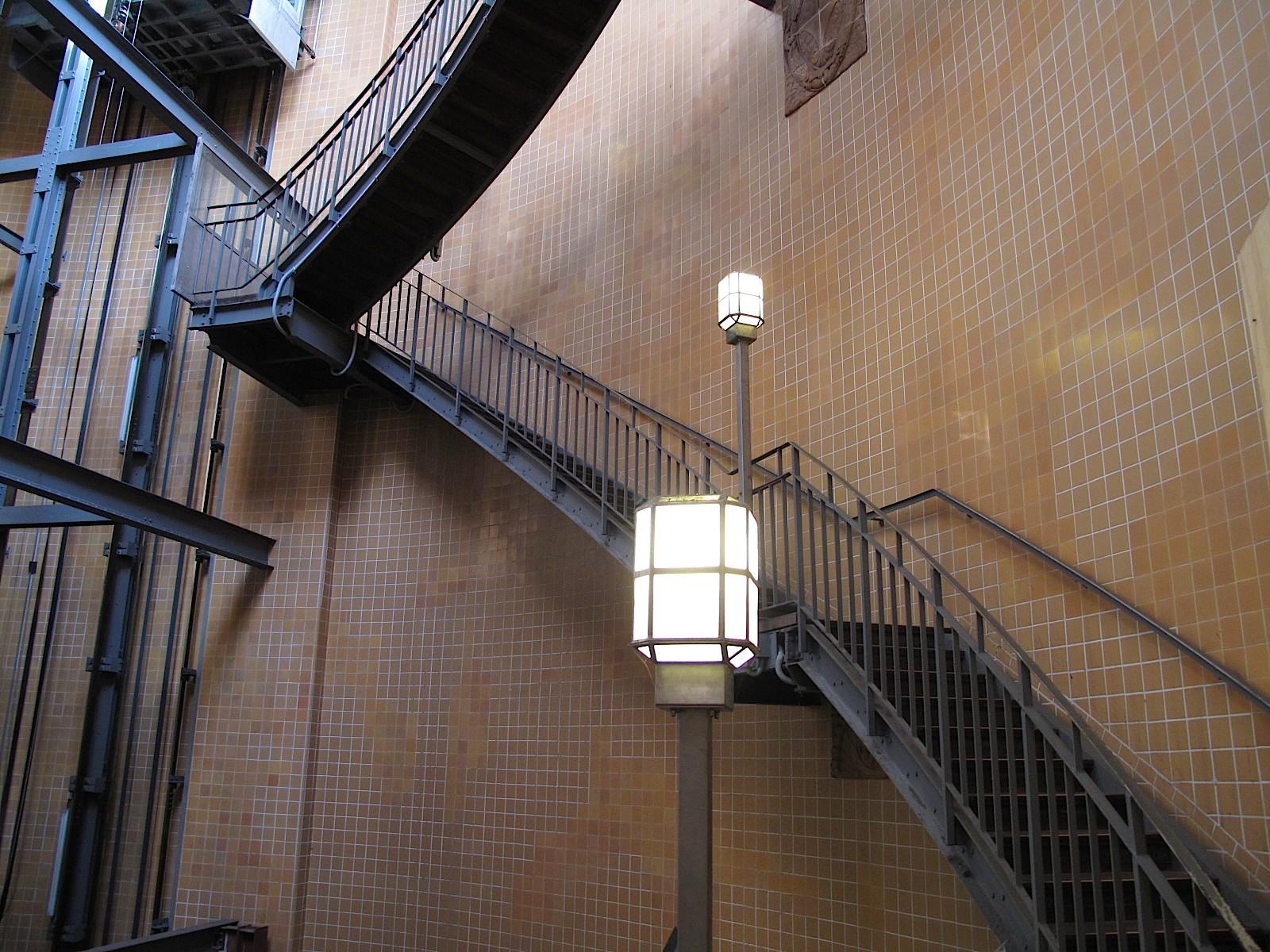 Treppenhaus Alter Elbtunnel