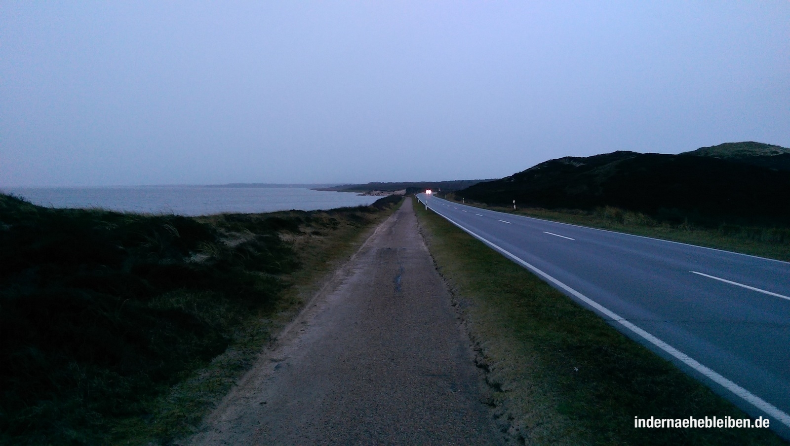 Road to Blidselbucht