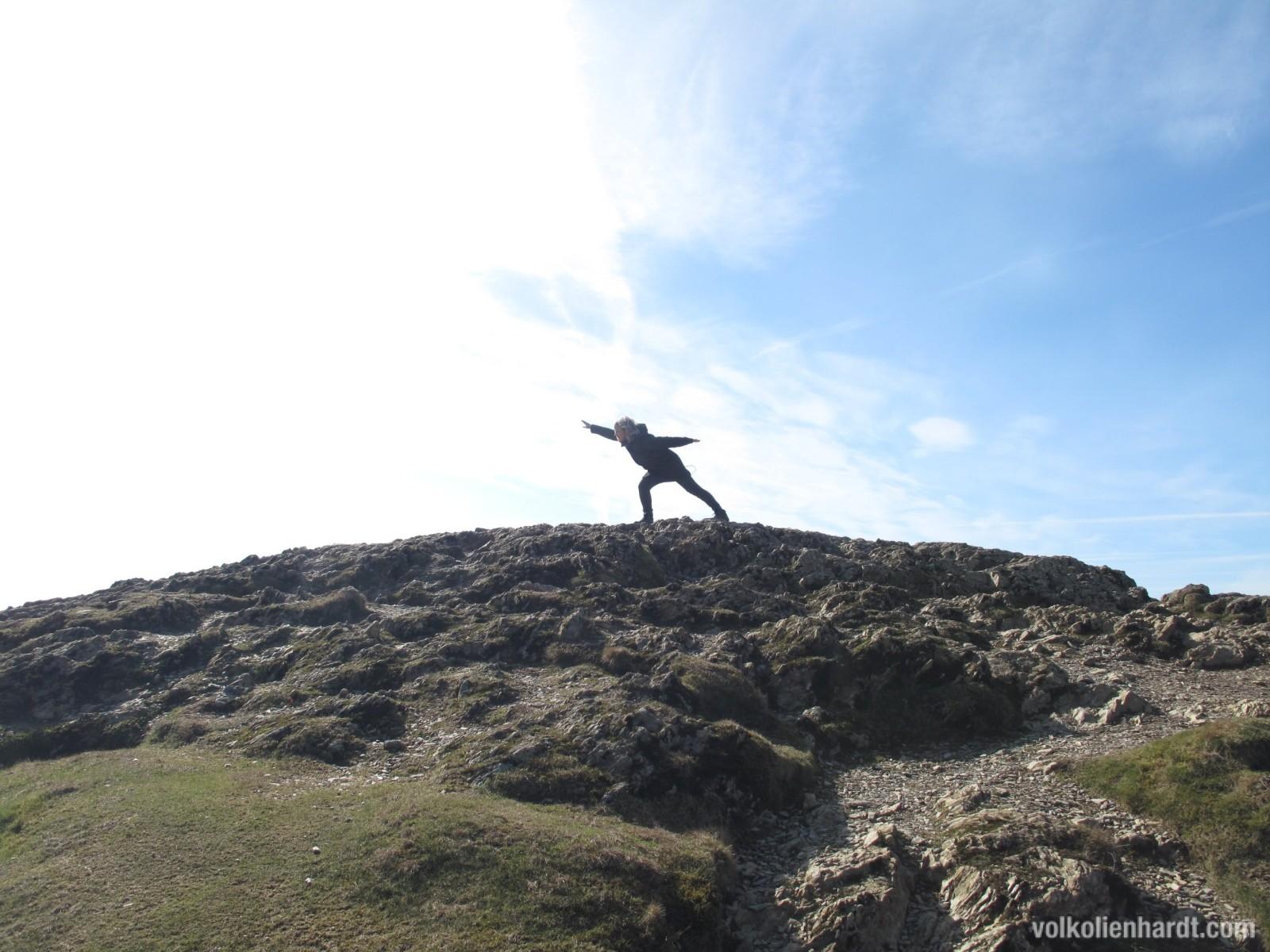 Ich bin mein eigenes Gipfelkreuz